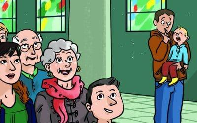 4 étapes pour préparer la messe en famille